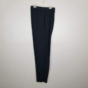 6b25a8e0a1533 Votre Nom Black Pleated Dress Slacks Size 10